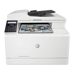 МФУ лазерное ЦВЕТНОЕ HP LaserJet Pro M181fw «4 в 1», А4, 16 стр./<wbr/>мин, 30000 стр./<wbr/>мес, сетевая карта, ДУПЛЕКС, АПД, Wi-Fi