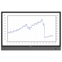 "Интерактивная панель BENQ RP553K, 55"", 3840×2160, 16:9, ПК, 10 касаний"