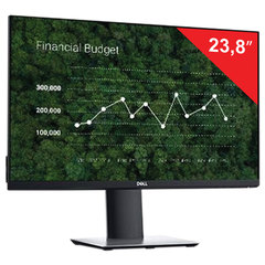 "Монитор DELL P2419HC 23,8"" (60 см), 1920×1080, 16:9, IPS, 5 ms, 250 cd, HDMI, DP, USB, HAS Pivot, черный"