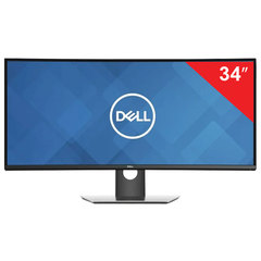 "Монитор DELL U3419W 34"" (86 см), 3440×1440, 21:9, IPS, 5 ms, 300 cd, HDMI, DP, USB, HAS Pivot, черный"