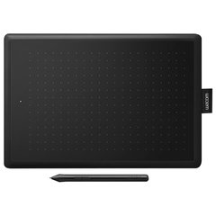 Планшет графический WACOM One medium CTL-672-N, 2540 LPI, 2048 уровней, (А5) 216×135, USB, черный