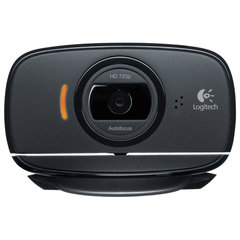 Вебкамера LOGITECH HD Webcam C525, 8 Мпикс, USB 2.0, микрофон, автофокус, черная
