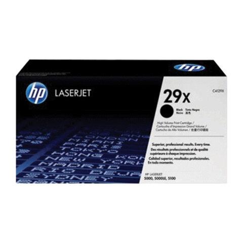 Картридж лазерный HP (C4129X) LJ 5000, оригинальный, ресурс 10000 страниц