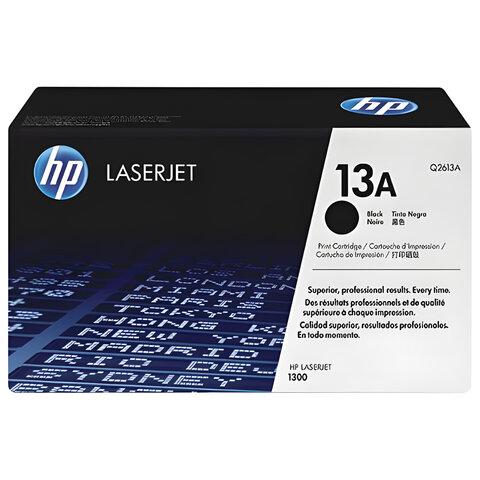 Картридж лазерный HP (Q2613A) LaserJet 1300/1300N, №13А, оригинальный, ресурс 2500 стр.