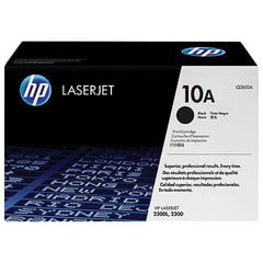 Картридж лазерный HP (Q2610A) LaserJet 2300 и другие, №10А, оригинальный, ресурс 6000 стр.