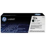 Картридж лазерный HP (Q2612A) LaserJet 1018/<wbr/>3052/<wbr/>М1005 и др., №12А, оригинальный, ресурс 2000 стр.