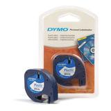 Картридж для принтеров этикеток DYMO Letra Tag, 12 мм х 4 м, лента пластиковая, белая