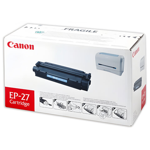 Картридж лазерный CANON (EP-27) LBP-3200/<wbr/>MF3228/<wbr/>3240/<wbr/>5730 и другие, оригинальный, ресурс 2500 стр.