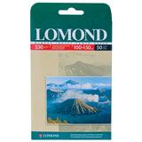 Фотобумага LOMOND для струйной печати, 10×15 см, 230 г/<wbr/>м<sup>2</sup>, 50 л., односторонняя, глянцевая, 0102035