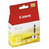 Картридж струйный CANON (CLI-8Y) Pixma iP4200/<wbr/>4300/<wbr/>4500/<wbr/>5200/<wbr/>5300, желтый, оригинальный