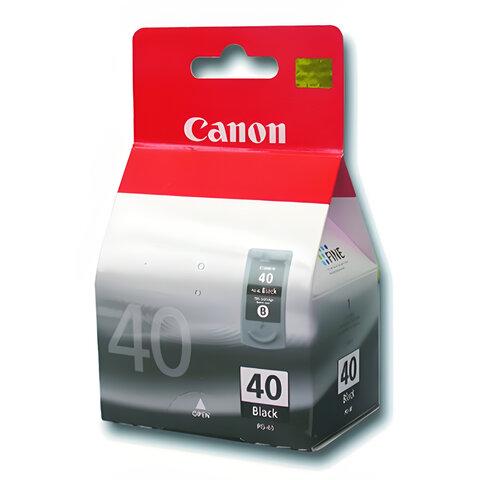 Картридж струйный CANON (PG-40) Pixma iP1200/1600/1700/2200/MP150/160/170/180/210, черный
