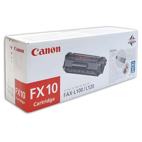 Картридж лазерный CANON (FX-10) i-SENSYS 4018/4120/4140 и другие, оригинальный, ресурс 2000 стр.