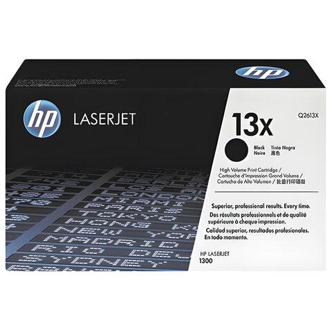 Картридж лазерный HP (Q2613X) LaserJet 1300/1300N, №13X, оригинальный, ресурс 4000 стр.