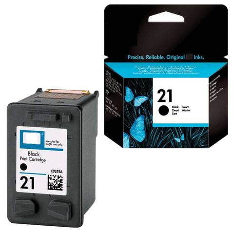 Картридж струйный HP (C9351AE) Deskjet 3920/3940/officeJet4315/4355, №21, черный, оригинальный