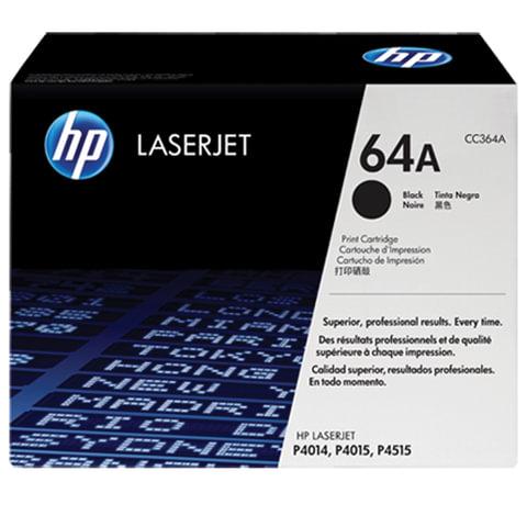 Картридж лазерный HP (CC364A) LaserJet P4014/P4015/P4515 и другие, №64А, оригинальный, 10000 стр