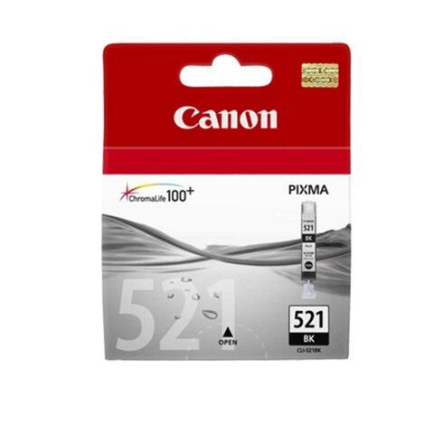 Картридж струйный CANON (CLI-521Bk) Pixma MP540/<wbr/>630/<wbr/>980, черный, фото, оригинальный