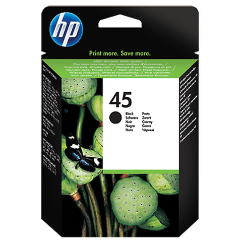 Картридж струйный HP (51645AE) Deskjet 850C/950C/1600C/6122, №45, черный, оригинальный