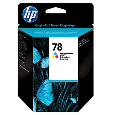 Картридж струйный HP (C6578D) Deskjet 959C/<wbr/>1220C/<wbr/>9650, №78, цветной, оригинальный