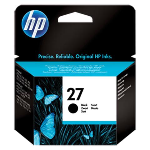 Картридж струйный HP (C8727AE) Deskjet 3320/3520/5650/5850, №27, черный, оригинальный