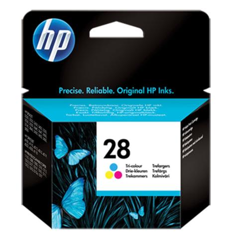 Картридж струйный HP (C8728AE) Deskjet 3320/<wbr/>3520/<wbr/>5650/<wbr/>5850, №28, цветной, оригинальный