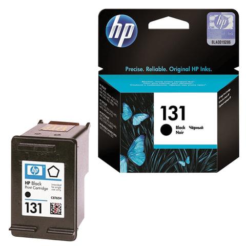 Картридж струйный HP (C8765HE) Deskjet 460/<wbr/>5743/<wbr/>6543/<wbr/>6843/<wbr/>PS2613/<wbr/>С3183, №131, черный, оригинальный