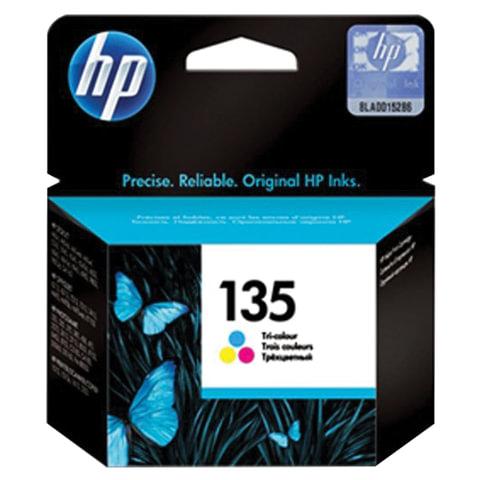 Картридж струйный HP (C8766HE) Deskjet 460/5743/6543/6843/PSC3183/ D5063, №135 цветной, оригинальный