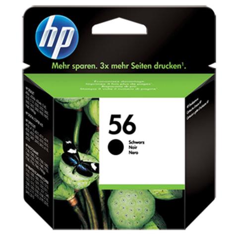 Картридж струйный HP (C6656AE) Deskjet 5150/<wbr/>5550/<wbr/>5600/<wbr/>5850, №56, черный, оригинальный