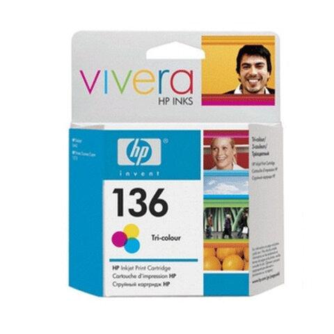 Картридж струйный HP (C9361HE) Officejet 6313/<wbr/>6315/<wbr/>Photosmart C3183, №136, цветной, оригинальный