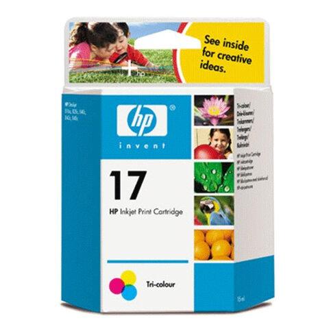 Картридж струйный HP (C6625AE) Deskjet 816С/<wbr/>840C/<wbr/>843C, №17, цветной, оригинальный