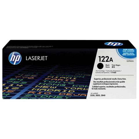 Картридж лазерный HP (Q3960A) ColorLaserJet 2550/<wbr/>2820 и другие, черный, оригинальный, 5000 стр.