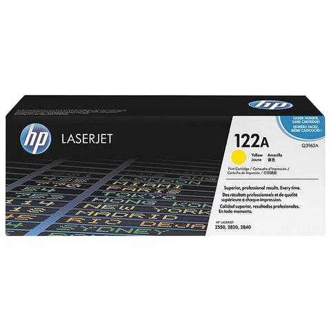 Картридж лазерный HP (Q3962A) ColorLaserJet 2550/<wbr/>2820 и другие, желтый, оригинальный, 4000 стр.