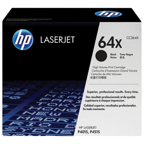 Картридж лазерный HP (CC364X) LaserJet P4015/<wbr/>P4515, №64Х, оригинальный, ресурс 24000 стр.