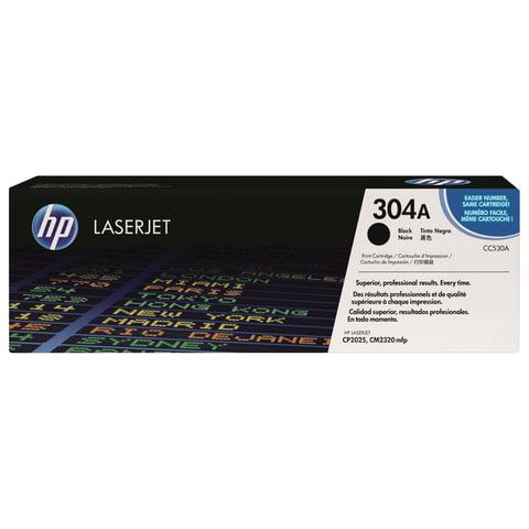 Картридж лазерный HP (CC530A) ColorLaserJet CP2025/<wbr/>CM2320, черный, оригинальный, ресурс 3500 стр.