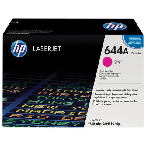Картридж лазерный HP (Q6463A) ColorLaserJet CM4730, пурпурный, оригинальный, ресурс 12000 стр.