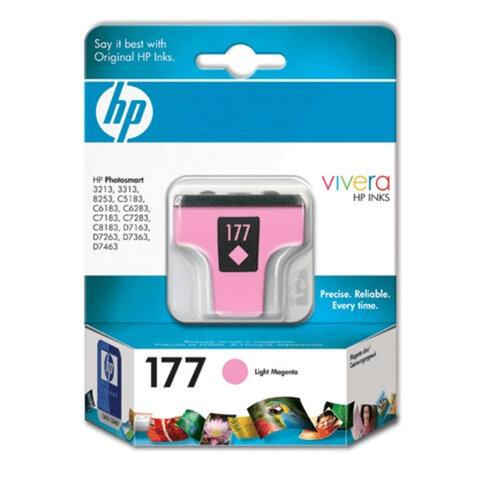 Картридж струйный HP (C8775HE) Photosmart C7283/<wbr/>C8183, №177, фото, светло-пурпурный, оригинальный