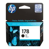 Картридж струйный HP (CB316HE) Photosmart C6383/<wbr/>D5463 №178, черный, оригинальный, ресурс 250 стр.