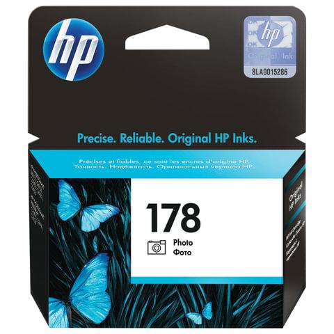 Картридж струйный HP (CB317HE) Photosmart C6383/<wbr/>D5463 №178, фото, черный, оригинальный, 130 фото