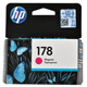 Картридж струйный HP (CB319HE) Photosmart C6383/<wbr/>D5463 №178, пурпурный, оригинальный, ресурс 300 стр.