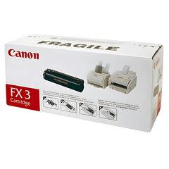 Картридж лазерный CANON (FX-3) L250/<wbr/>260i/<wbr/>300, MultiPASS L60/<wbr/>90, черный, оригинальный, ресурс 2700 страниц