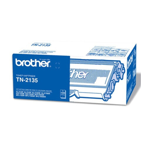 Картридж лазерный BROTHER (TN2135) DCP-7030R/7045NR/MFC-7320R/ 7440NR/HL-2140, оригинальный