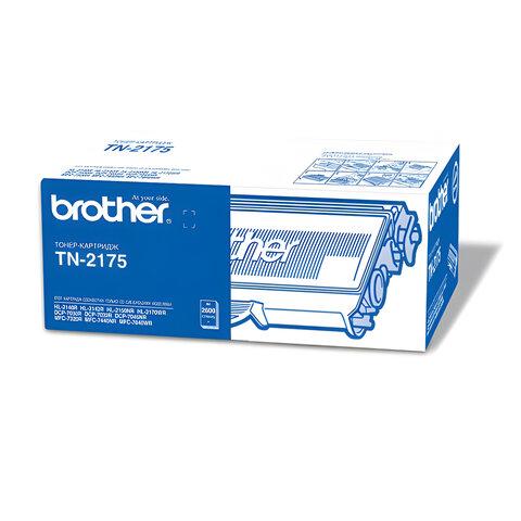 Картридж лазерный BROTHER (TN2175) DCP-7030R/7045NR/MFC-7320R/ 7440NR/HL-2140, оригинальный