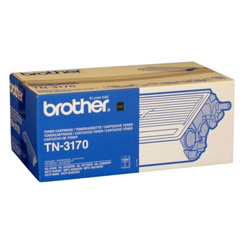 Картридж лазерный BROTHER (TN3170) HL-5250DN/DCP-8065DN и другие, оригинальный, ресурс 7000 стр.