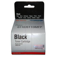 Картридж лазерный XEROX (106R01203) Phaser 6110, черный, оригинальный, ресурс 2000 стр.