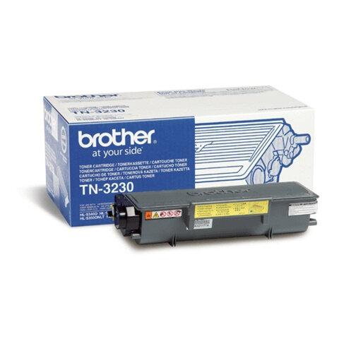 Картридж лазерный BROTHER (TN3230) HL-5340D/5350DN5370W и другие, оригинальный, ресурс 3000 стр.