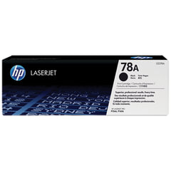 Картридж лазерный HP (CE278A) LaserJet P1566/<wbr/>1606DN и другие, №78А, оригинальный, ресурс 2100 стр.