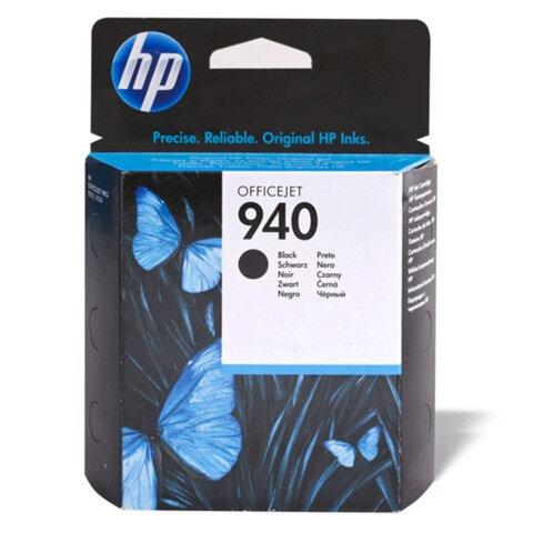 Картридж струйный HP (C4902AE) Officejet pro 8000/<wbr/>8500, №940, черный, оригинальный, ресурс 1000 стр.