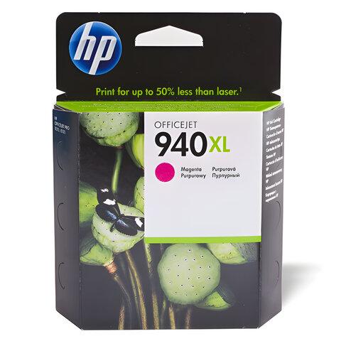 Картридж струйный HP (C4908AE) Officejet pro 8000/<wbr/>8500, №940, пурпурный, оригинальный, 1400 стр.