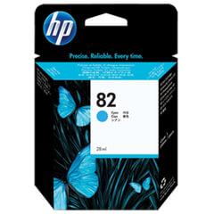 Картридж струйный для плоттера HP (CH566A) Designjet 510/<wbr/>500/<wbr/>500 Plus/<wbr/>500PS, №82, голубой, 28 мл
