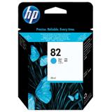 Картридж струйный для плоттера HP (CН566A) Designjet 510/<wbr/>500/<wbr/>500 Plus/<wbr/>500PS, №82, голубой, 28 мл