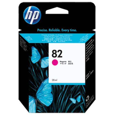 Картридж струйный для плоттера HP (CН567A) Designjet 510/<wbr/>500/<wbr/>500 Plus/<wbr/>500PS, №82, пурпурный, 28 мл